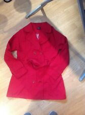 Red Spring / Summer Trench Coat Size 10 BN