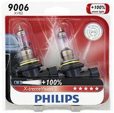 2x GERMANY Philips 9006 Upgrade 100% More Bright White Light Bulb STREET LEGAL