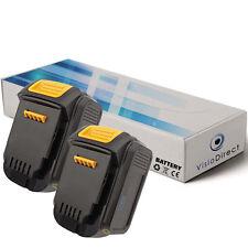 Lot de 2 batteries 14.4V 3000mAh pour Dewalt DCD735L - Société Française -
