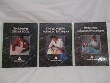 3  1993  **ADVANCED  SKILLS**  HARDCOVER  BOOKS  MEDICINE   (SMOKE  SMELL)