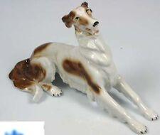 Barsoi Windhund Figur Hund hundefigur gemarkt braun