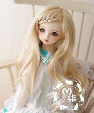 1 4 7-8 Dal BJD YOSD MSD Wig DOD LUTS Dollfie Doll wigs blonde barbie