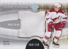 11-12 Ultimate Collection DEBUT THREADS PATCHES xx/100 Made! Andy MIELE Coyotes