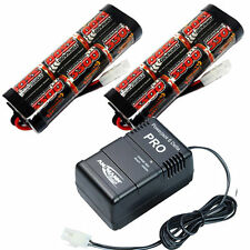 Overlander 2x 3300mah 7.2v NiMH Battery Pack & Fast Charger RC Car Tamiya