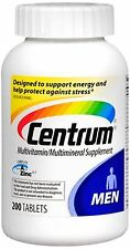 Centrum Ultra Men's Tablets 200 ea (Pack of 4)