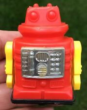 VINTAGE TOY-PLASTIC OCEAN FRICTION TOY SPACE ROBOT-HONG KONG