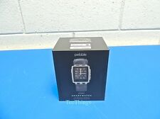 NEW Pebble Steel Smartwatch Stainless - Model 401SLR Sealed Box