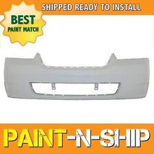 NEW Fits 2006 2007 2008 Chevy Malibu w/oFog holes Front Bumper Painted GM1000767