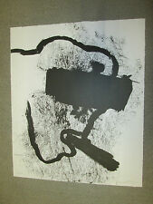 JANNIS KOUNELLIS LITHO SIGNED + NUMBERED