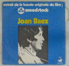 Woodstock 45 tours Joan Baez