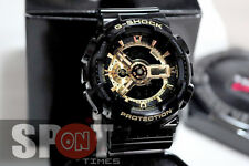 Casio G-Shock Black × Gold Men's Watch GA-110GB-1  GA110GB 1