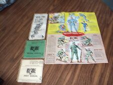 GI Joe Club Membership Form, Price Guide, and Army & Marine Manuals