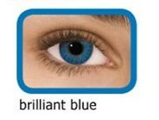 lentilles de couleur bleu brillant 1 an - contact lenses blue green