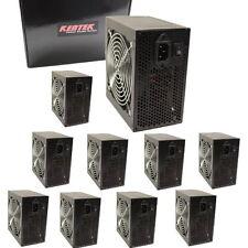 LOT of 10 550W Watt Power Supply for P4 AMD SATA 120mm Fan 20/24 Pin Kentek