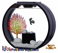 Fish r fun, déco fish tank 20L noir