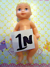 Barbie Kelly Krissy Friends Baby No Clothes *Naked Baby Krissy Doll* (1N)