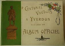 Helvetica, Yverdon, Schweiz, Yerdon Album, LandeskundeLandeskunde. Tir Cantonal