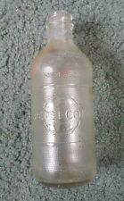 Pepsi-Cola Clear Glass Soda Bottle, 10 Fl Oz