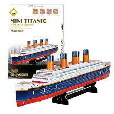 Educational 3D Model Puzzles Titanic Movie Ship DIY Toys 30 Pieces gift