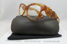 Dolce & Gabbana DG 3236 512 Orange Havana NewAuthentic Eyeglasses 54/16/140 Case