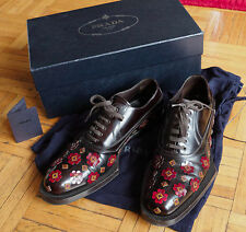 Mens sz 7 / US 8 Prada in box applique embellished runway Fall 2012 $1899