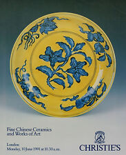 FINE CHINESE CERAMICS & WORKS OF ART AUCTION CATALOGUE