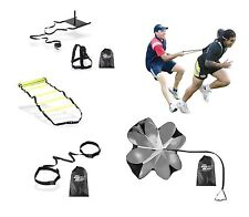 Crossfit Agility Training Combo Kit Ladder,Sled,Parachute,Evasion Belt,Resistor