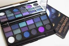 MAKEUP REVOLUTION GIVE THEM NIGHTMARES ~18 COLOUR EYESHADOW PALETTE PURPLE, BLUE