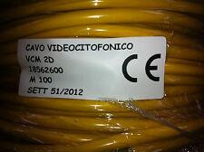 CAVO VIDEOCITOFONICO VCM 2D 18562600 metri 100 NUOVO SIGILLATO