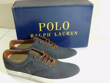 Polo Ralph Lauren Men's Vaughn Chambray Sneakers Denim Shoes NIB Size 8 D