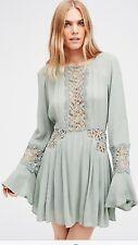 FREE PEOPLE New Sun Kissed Mini Dress Size 4  $118.00 NWT