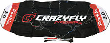 Crazyfly Rookie 3m Trainer Kite Fun Kiteboarding Foil Power Stunt Traction