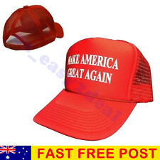 Trump Make America Great Again 2016 Red Trucker Snapback Adjustable Cap Hat
