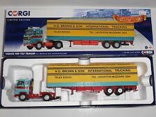 (Y) Corgi.CC15603 VOLVO F89 TILT TRAILER H G BROWN & SON LEIGHTON BUZZARD.1:50