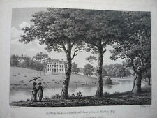 "ANTIQUE ENGRAVING DATED 1779. "" BEESTON HALL, IN NORFOLK."" RARE."