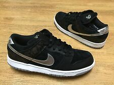 NIKE DUNK LOW PRO SB RAIDERS BLACK SILVER TAKASHI 2 MEN SZ 9 DS NEW WITH BOX