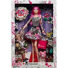Barbie 10th Anniversary Tokidoki Barbie PINk   BLACK LABEL