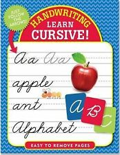 Handwriting: Learn Cursive! (2015, Paperback)