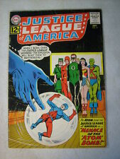 JUSTICE LEAGUE of AMERICA #14 ATOM BOMB GREEN LANTERN, BATMAN 1962, WONDER WOMAN