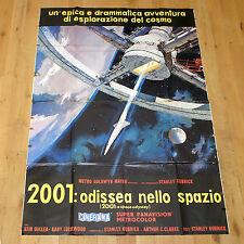 2001 ODISSEA NELLO SPAZIO manifesto poster Kubrick A Space Odissey Sci Fi