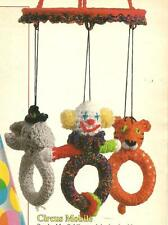 *Circus Baby Mobile crochet PATTERN INSTRUCTIONS
