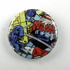 Captain America WANK - Button Badge - 25mm 1 inch