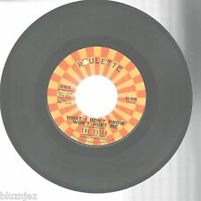 """45"""" The Essex~What I Don't Know Won't Hurt Me/A Walkin' Miracle~Roulette R-4515"""