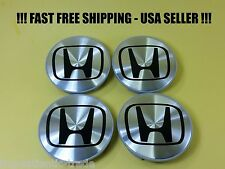 4 Center Caps Wheel Set Hubcaps for Honda CRV CIVIC ELEMENT ODYSSEY PILOT