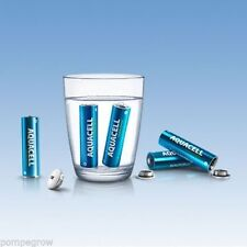 4x AQUACELL - AA NEW Batteries 1.5V  4x AA Water Activated Eco Battery