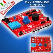 Multi-Purpose Shield V1 Arduino Expansion Board Learning Multifunzione KIT Pic