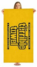 "Pittsburgh Steelers NFL Terrible Beach Towel Myron Cope Official Towel 35""X60"""