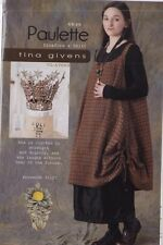 PATTERN - Paulette Pinafore & Skirt - women's sewing PATTERN from Tina Givens
