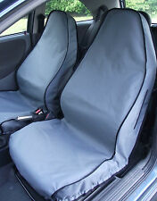 Audi A4 Car Seat Covers (Front Pair Black) 2007 - Onwards