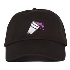 Double Cup Hat - Black Lean Dad cap Syrup Future Codeine Crazy ASAP rocky
